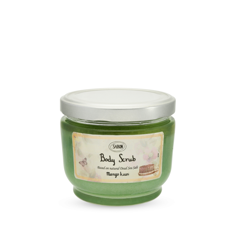 Body Scrub Large - Mango Kiwi - Sabon Singapore