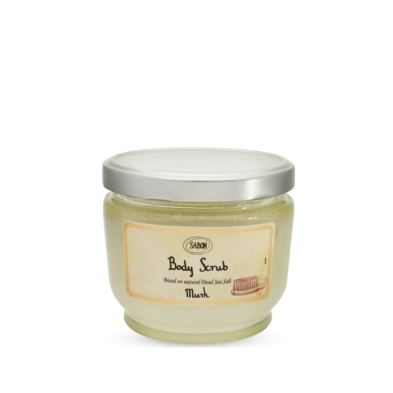 Body Scrub Large - Musk - Sabon Singapore