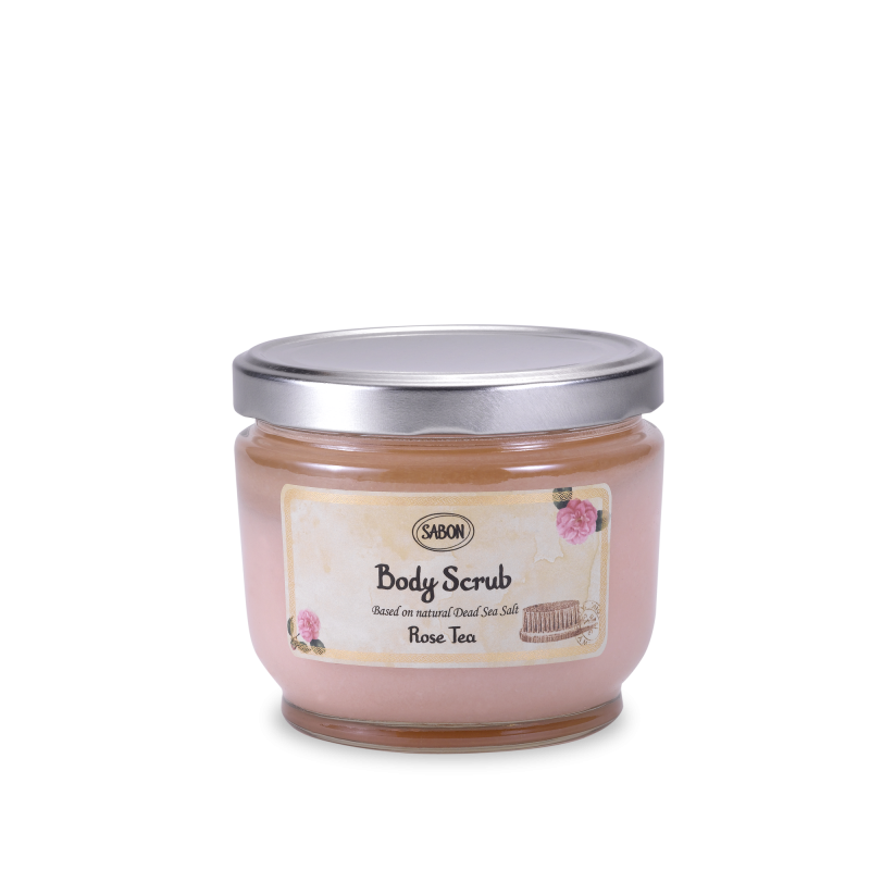 Body Scrub Large - Rose Tea - Sabon Singapore