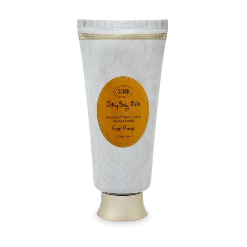 Silky Body Milk Tube - Ginger Orange - Sabon Singapore