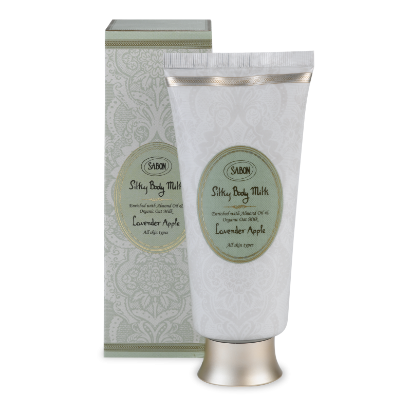 Silky Body Milk Tube - Lavender Apple - Sabon Singapore