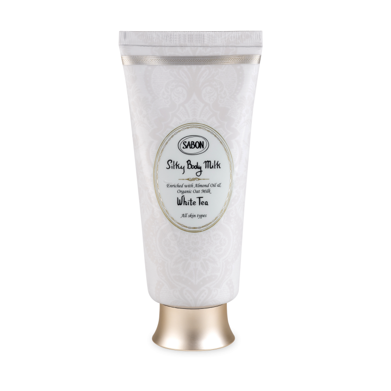 Silky Body Milk Tube - White Tea - Sabon Singapore