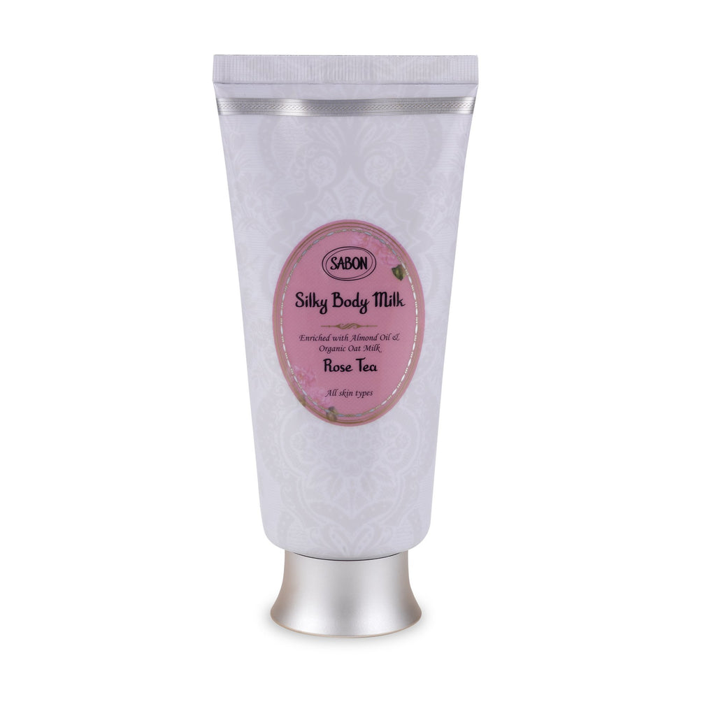 Silky Body Milk Tube - Rose Tea - Sabon Singapore