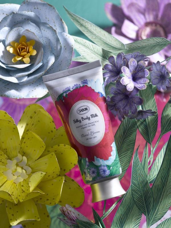 Spring 2020 - Floral Bloom Silky Body Milk Tube - Sabon Singapore