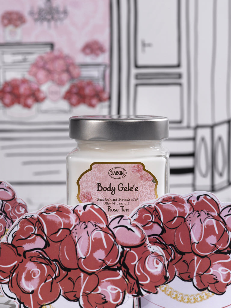 Body Gelee - Rose Tea - Sabon Singapore