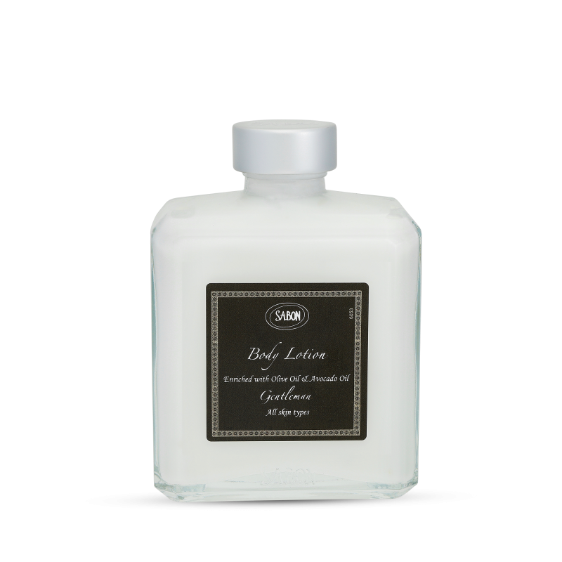 Body Lotion Bottle - Gentleman - Sabon Singapore