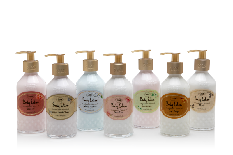 Body Lotion Bottle - Delicate Jasmine - Sabon Singapore