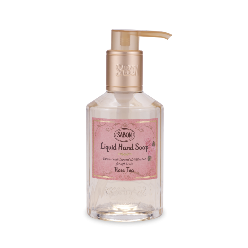 Hand Soap Bottle - Rose Tea - Sabon Singapore