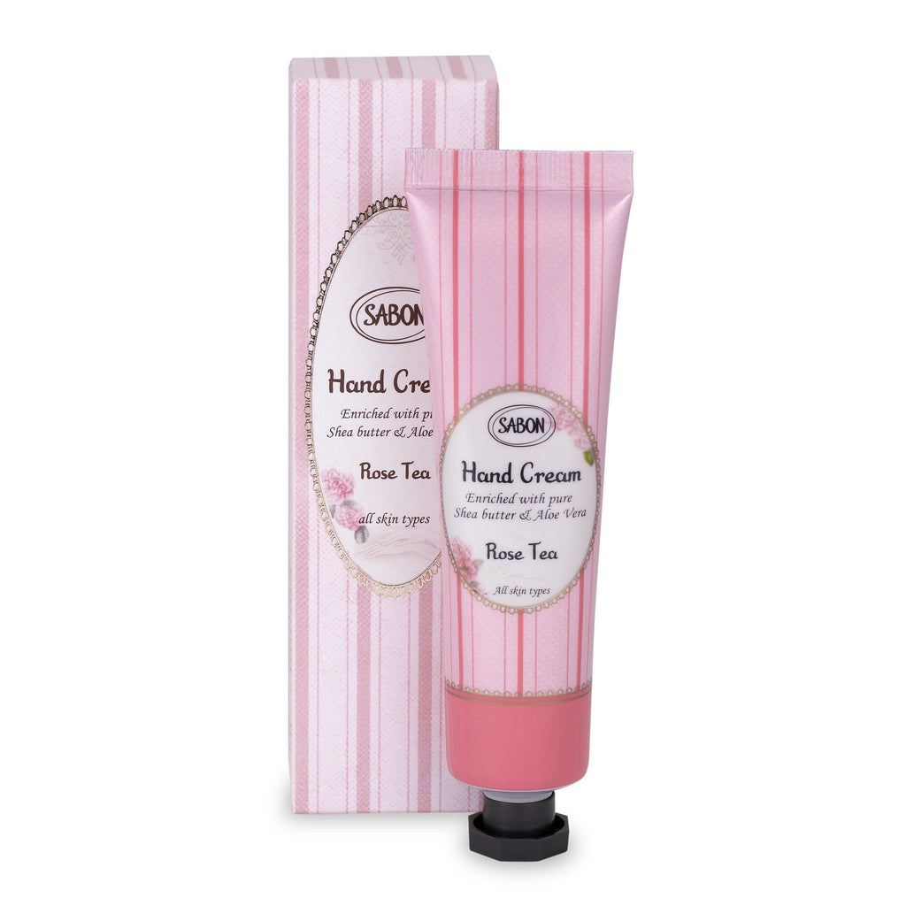 Hand Cream Tube - Rose Tea - Sabon Singapore