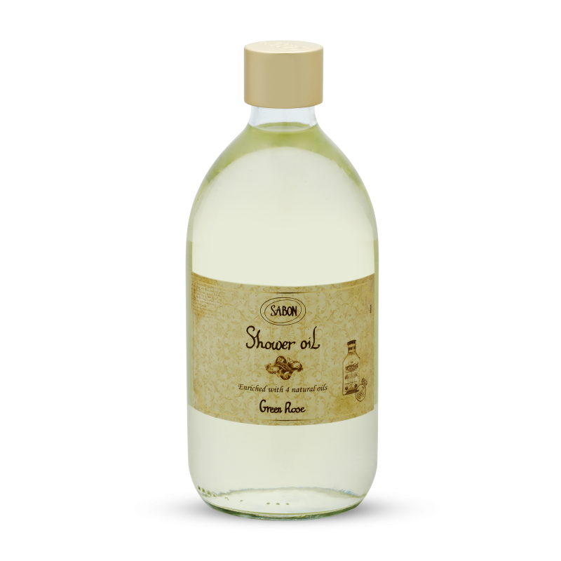 Shower Oil - Green Rose - Sabon Singapore