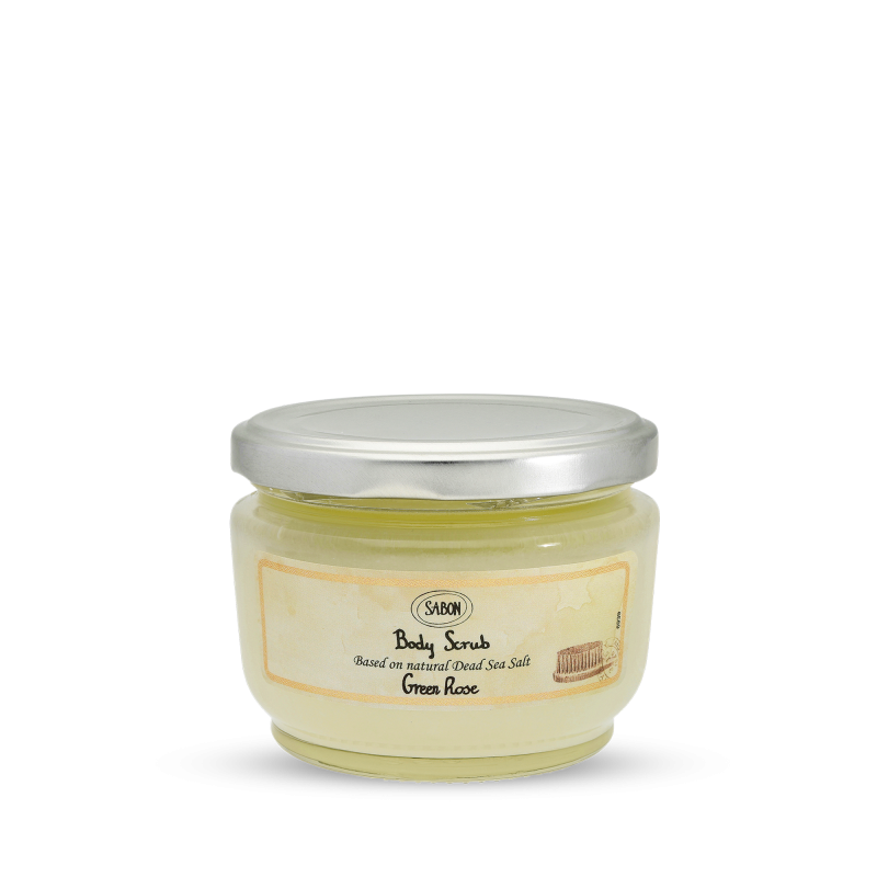 Body Scrub Small - Green Rose - Sabon Singapore