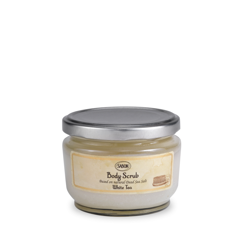 Body Scrub Small - White Tea - Sabon Singapore