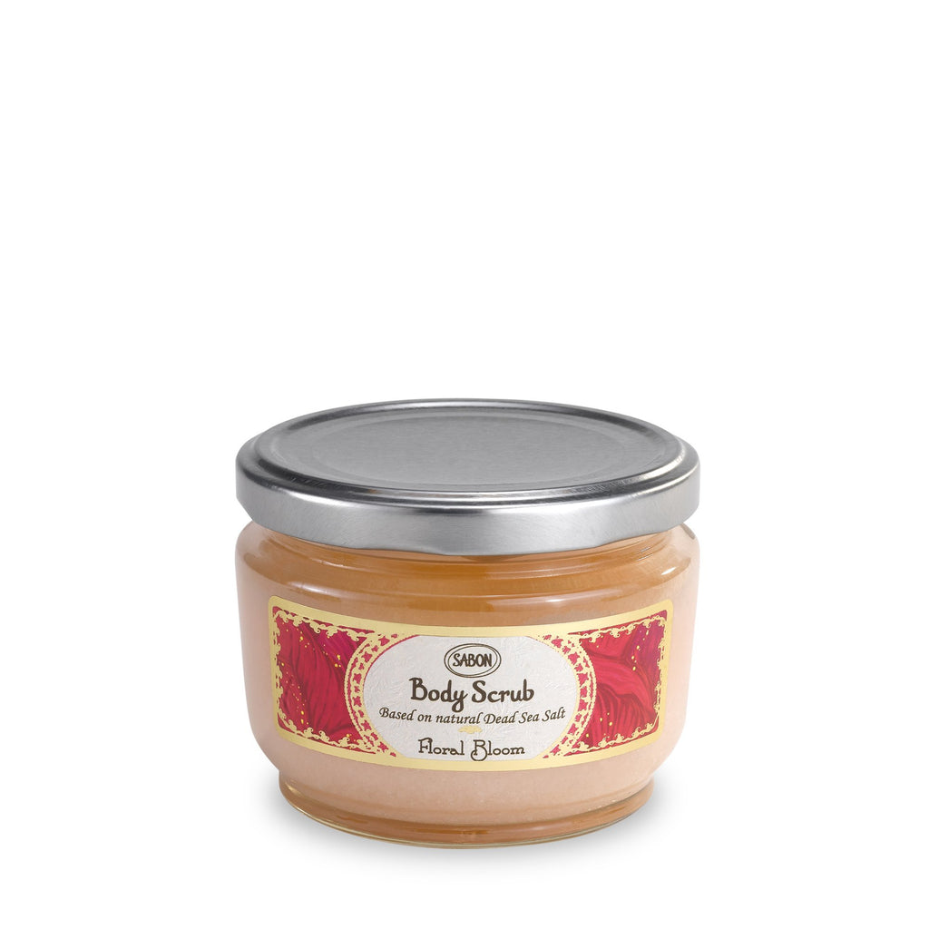 Spring 2020 - Floral Bloom Body Scrub Small - Sabon Singapore