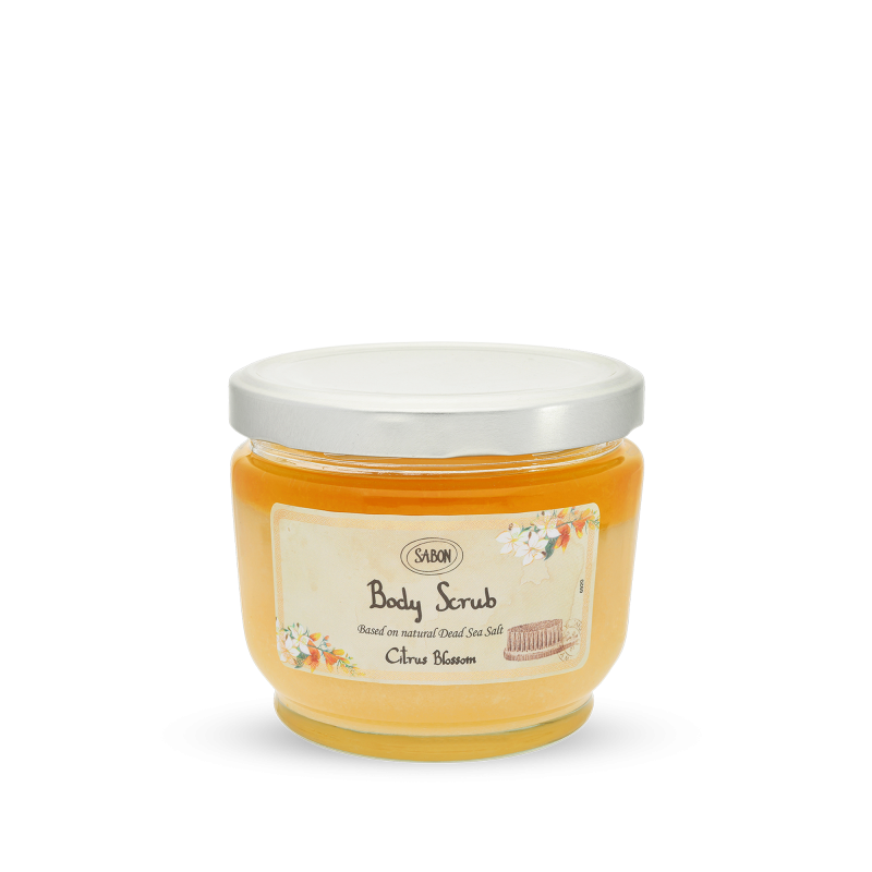 Body  Scrub Large - Citrus Blossom, 600g - Sabon Singapore