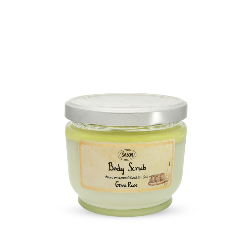 Body Scrub Large - Green Rose - Sabon Singapore