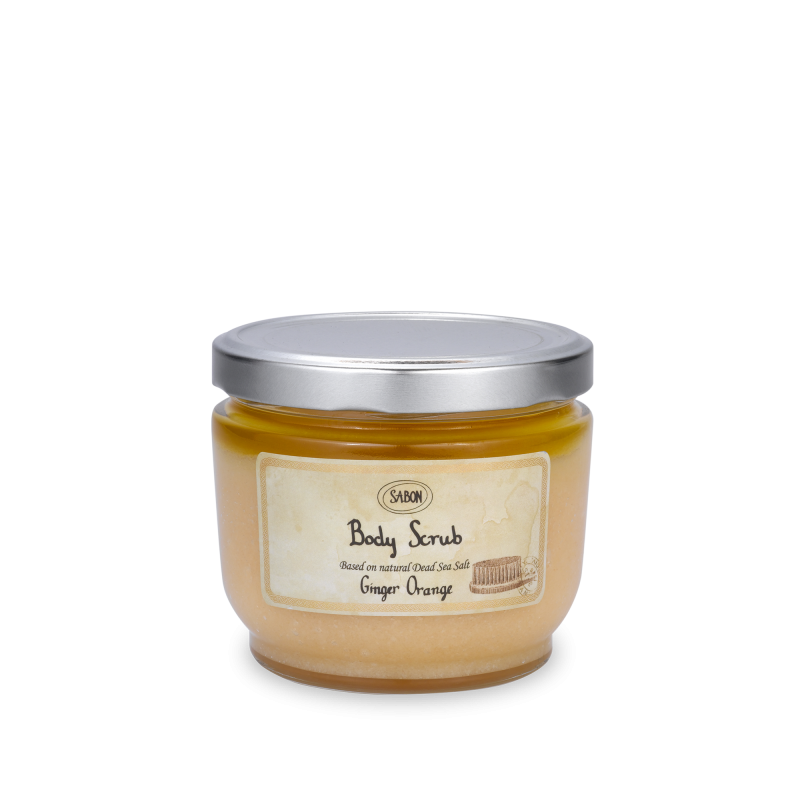 Body Scrub Large - Ginger Orange - Sabon Singapore
