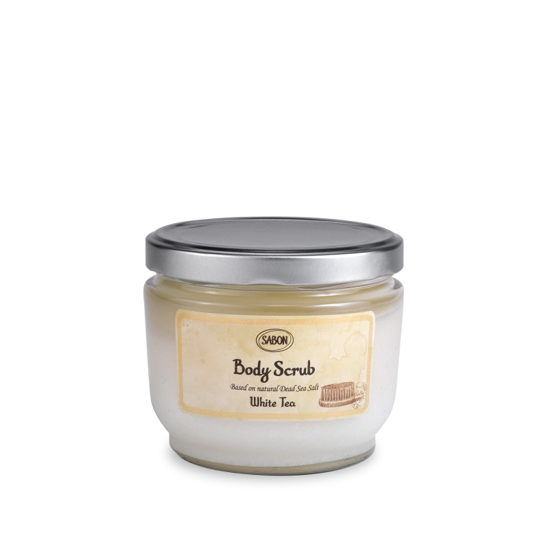 Body Scrub Large - White Tea - Sabon Singapore