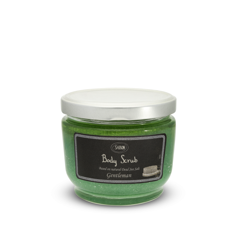 Body Scrub Large - Gentleman - Sabon Singapore