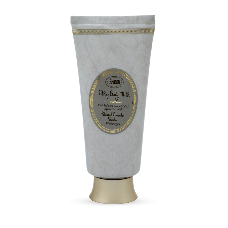Silky Body Milk Tube - Patchouli Lavender Vanilla - Sabon Singapore
