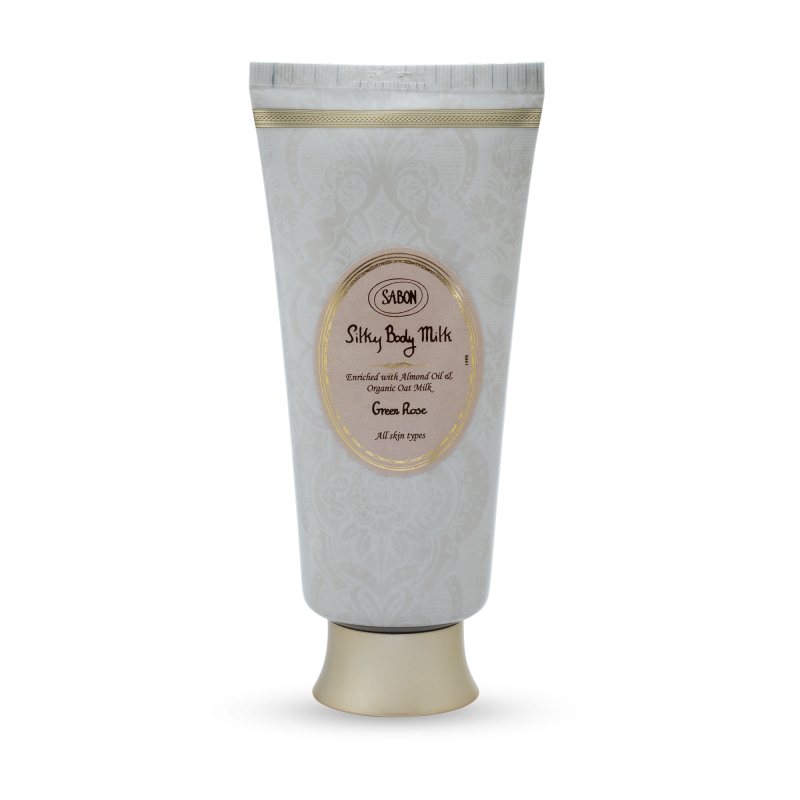 Silky Body Milk Tube - Green Rose - Sabon Singapore