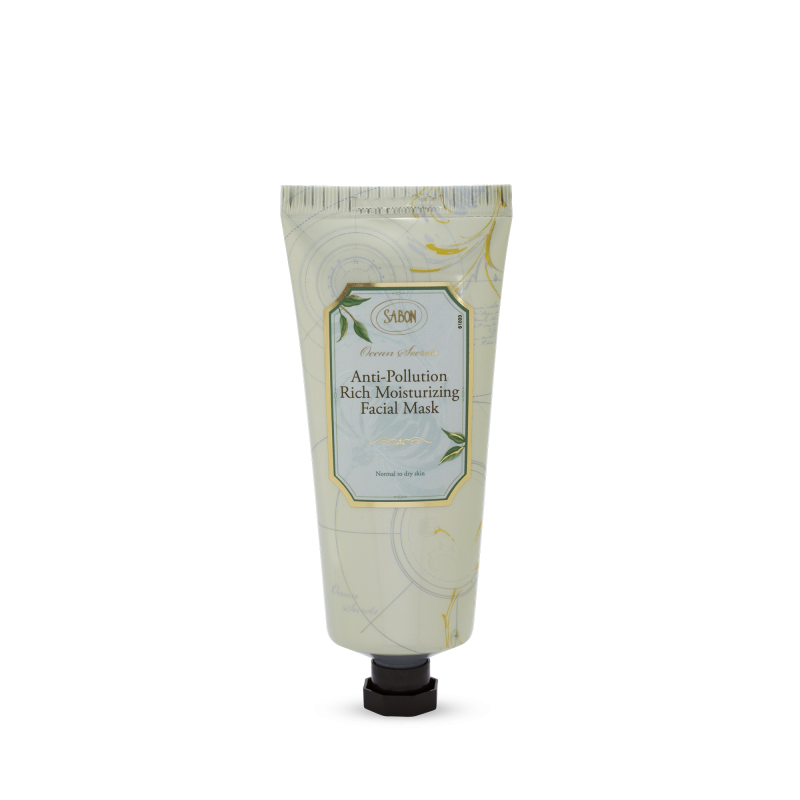 Ocean Secrets Rich Mositurizing Facial Mask, 100ml - Sabon Singapore