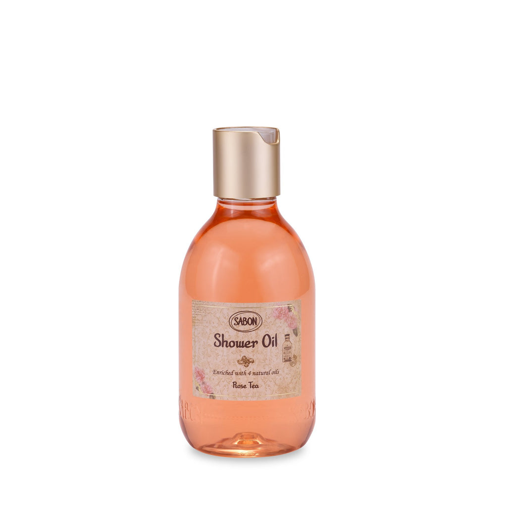 Shower Oil PET - Rose Tea - Sabon Singapore