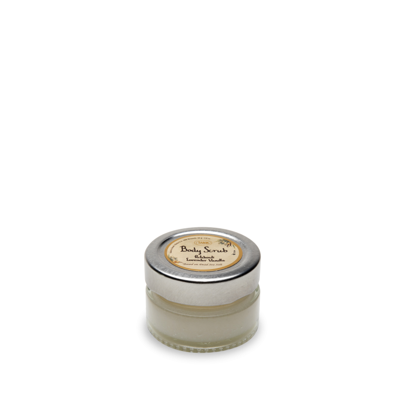 Mini Body Scrub (Jar) - Patchouli Lavender Vanilla - Sabon Singapore