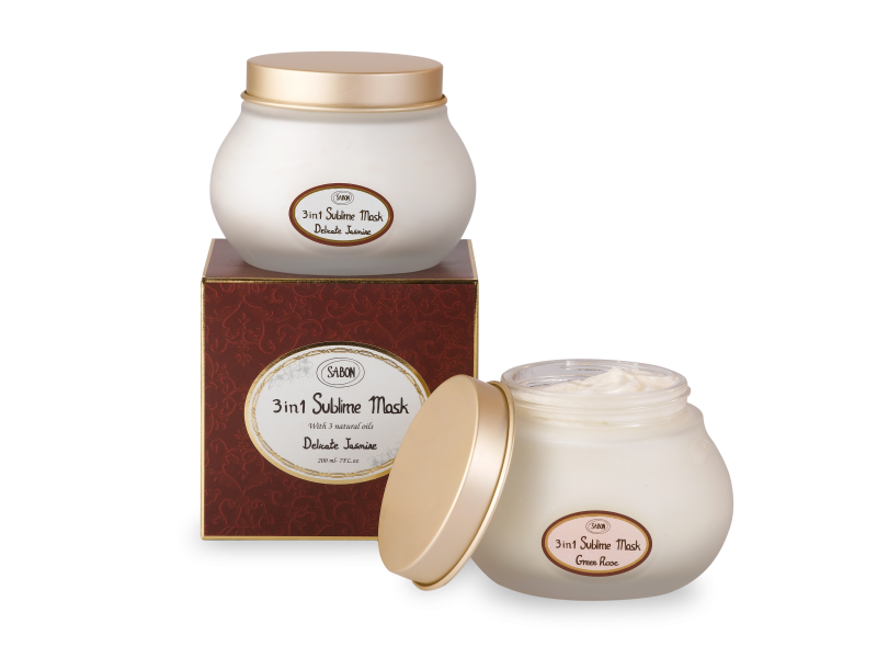 Hair Sublime 3in1 Mask -Green Rose - Sabon Singapore