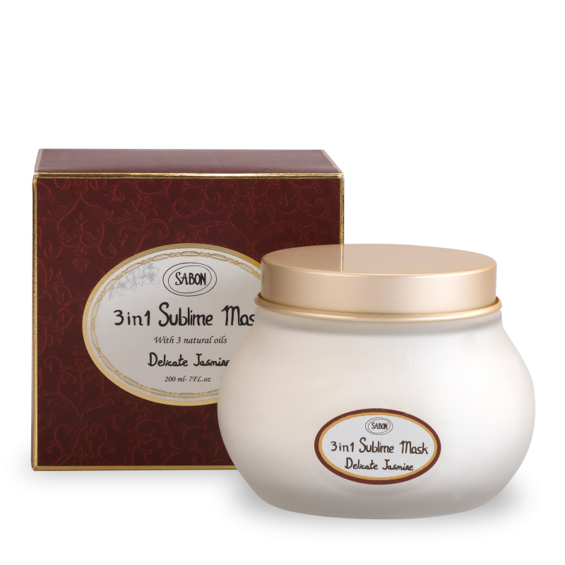 Hair Sublime 3in1 Mask -Delicate Jasmine - Sabon Singapore