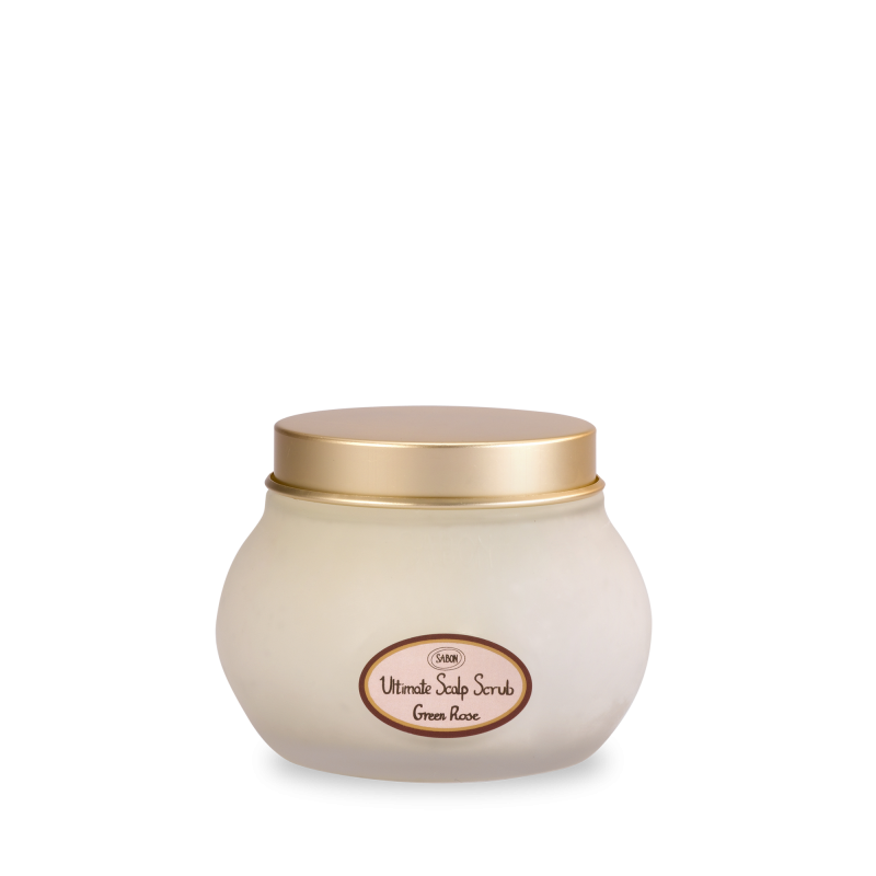 Ultimate Scalp Scrub - Green Rose - Sabon Singapore