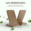 Wooden Wireless Charger Stand