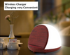 Wood Wireless Charger Touch Conversion Smart Night Light