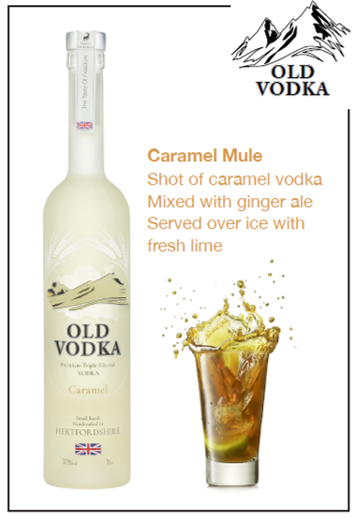 Caramel Mule Vodka 700ml (6 Bottles)
