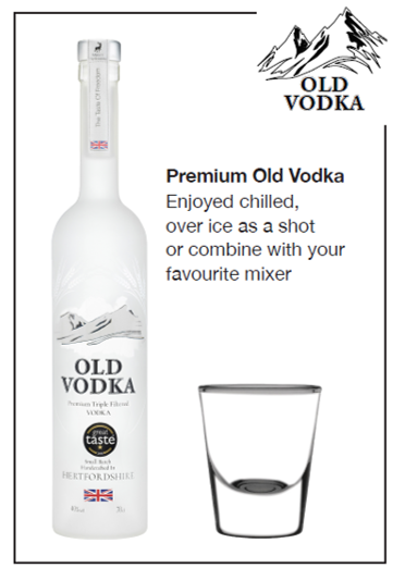 Premium Old Vodka 700ml (6 Bottles)