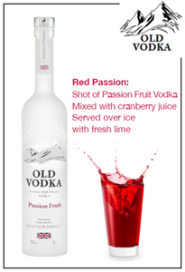 Red Passion Vodka 700ml (6 Bottles)