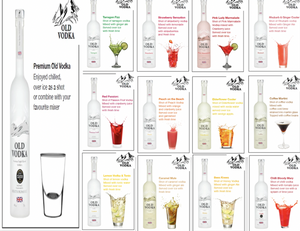 Try All one of our flavour Vodka 700ml (12 Bottles)