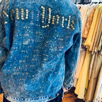 New York oversized denim jacket