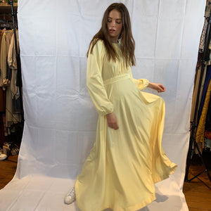 banana yellow maxi