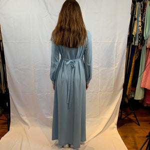 Muted blue maxi