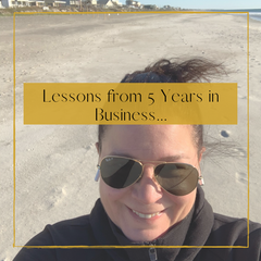 Lessons from 5 Years in Business