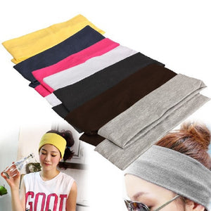 Yoga Hair Bands Sport Elastic Headbands