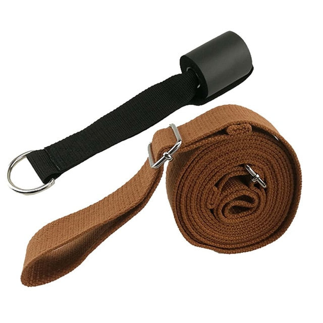 yoga Leg Stretcher Strap Door Flexibility