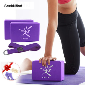 EVA Yoga Block Set Exercise Workout