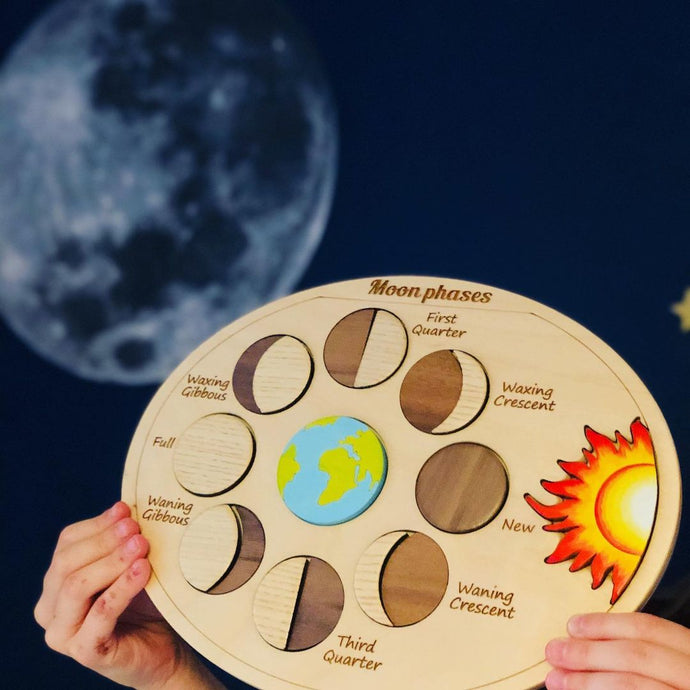 Moon Phases Puzzle