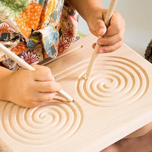 Spiral and Strokes Tracing Board