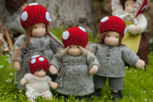 Load image into Gallery viewer, Children of the Forest Family Waldorf Dolls - Unique handmade toy