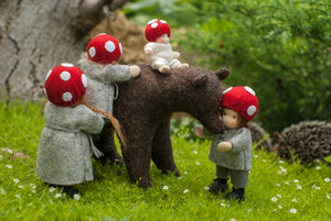 Children of the Forest Family Waldorf Dolls - Unique handmade toy