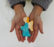 Load image into Gallery viewer, Praying Angel - Christmas Wooden Handmade Figures