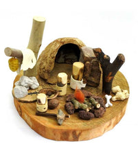 Load image into Gallery viewer, Cave Family Primitive Life - Waldorf Handmade Unique Toy