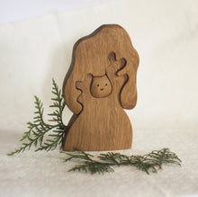 Charger l'image dans la galerie, Nature Tree with Owl - Wooden Handmade Montessori Open-ended Toy